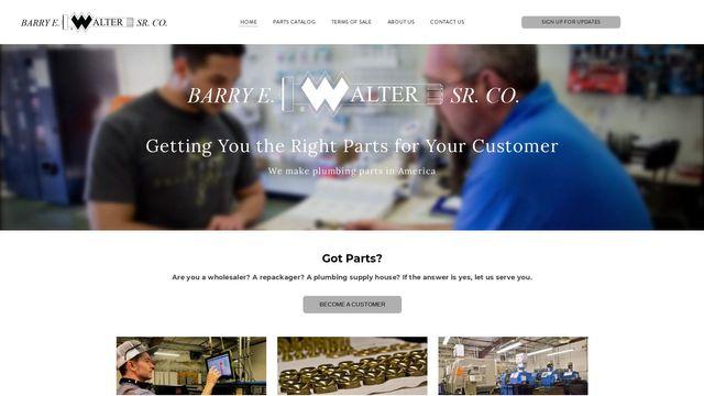 Barry E. Walter Sr. Company