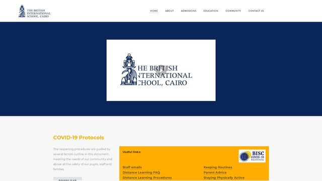 The British International School, Cairo