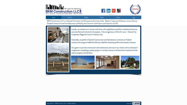 Bkm Construction Llc