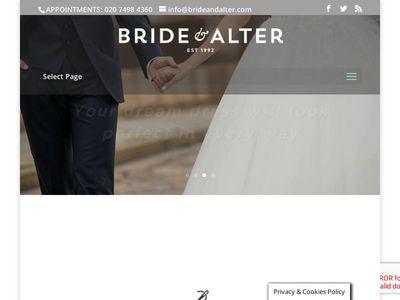 Bride & Alter