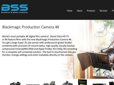 BSS Broadcast & Studio Solutions