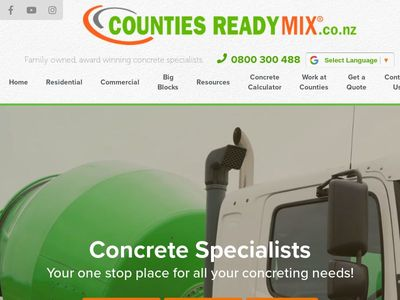 COUNTIES READY MIX LIMITED