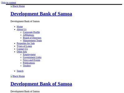 Development Bank of Samoa