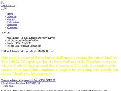 Freedom Driving School