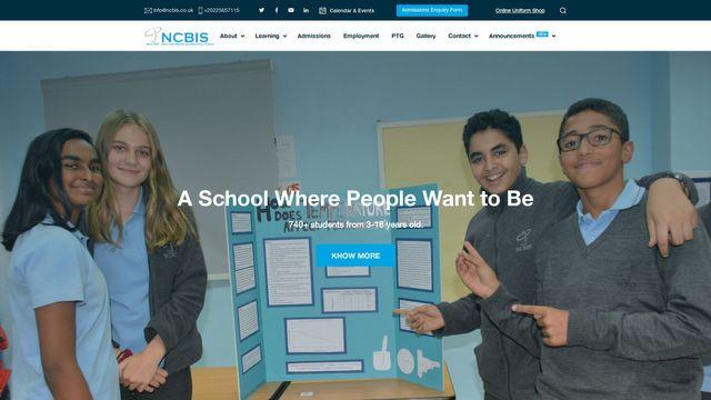 New Cairo British International School - NCBIS