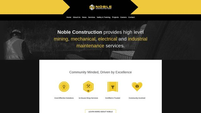 Noble Construction Corp.