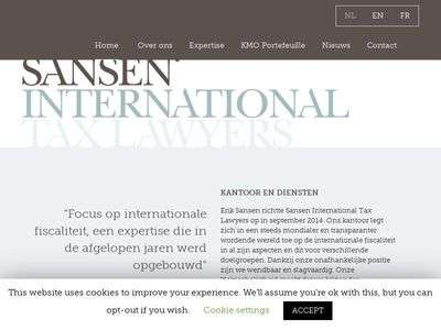 Sansen International Tax Lawyers