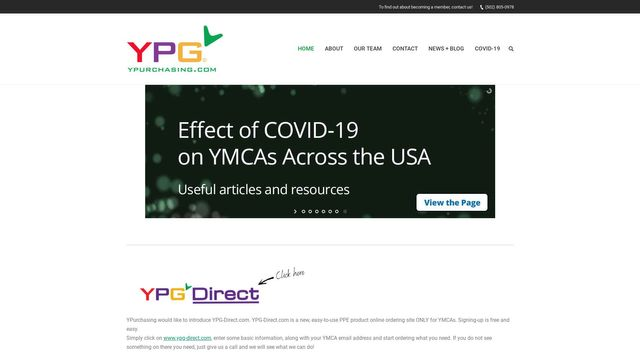 Y Purchasing Group, YPG a Group Purchasing for over 150 YMCAs   A YMCA Member Owned Company