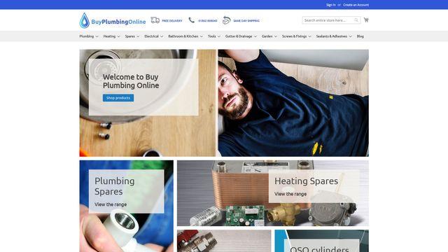 Buy Plumbing Online