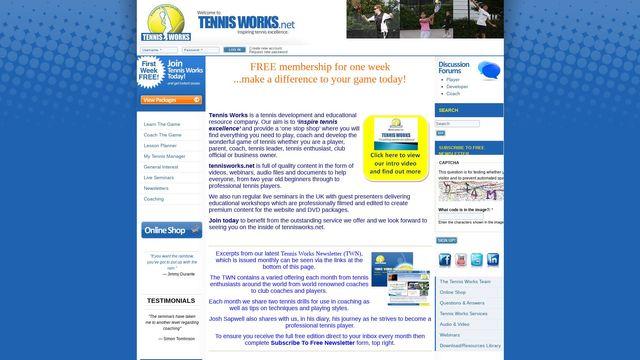 Tennis Works
