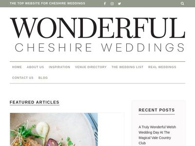 Wonderful Cheshire Weddings