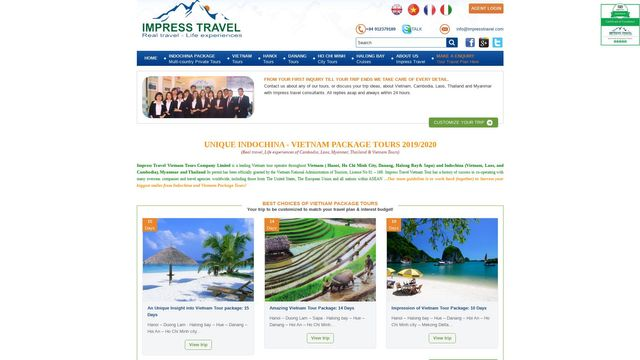 Impress Travel Company