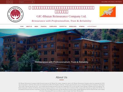 Bhutan Reinsurance Co. Ltd.