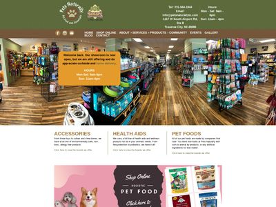 Pets Naturally Pet Food and Essentials