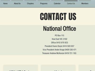Australian Culinary Federation National Office Inc.