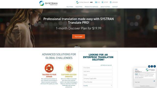 (SYSTRAN Software Inc.)