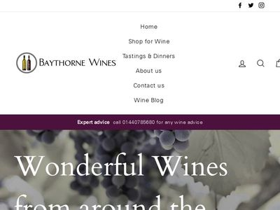 Baythorne Wines
