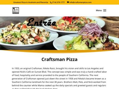 Craftsman Pizza