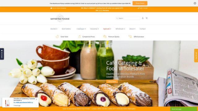 Satisfine Foods Pty Ltd.