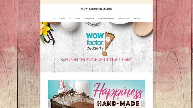 WOW! Factor Desserts