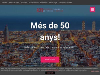 ACPB. Associació de Consumidors de la Província de Barcelona