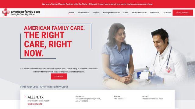 American Family Care, Inc.