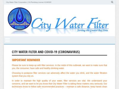 City Water Filter Corporation