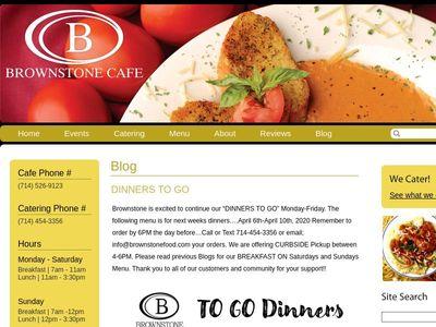 Brownstone Cafe