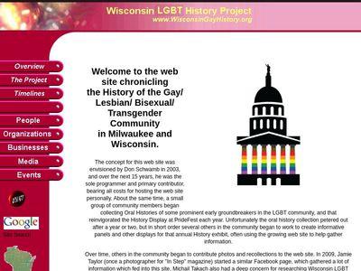 Milwaukee LGBT History Project, Inc.