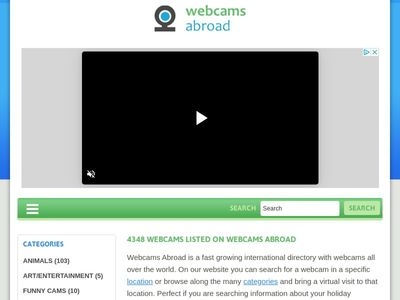 Webcams Abroad live images