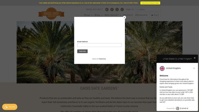 Oasis Date Gardens™