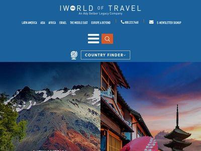 IWorld of Travel   An Ady Gelber Legacy Company