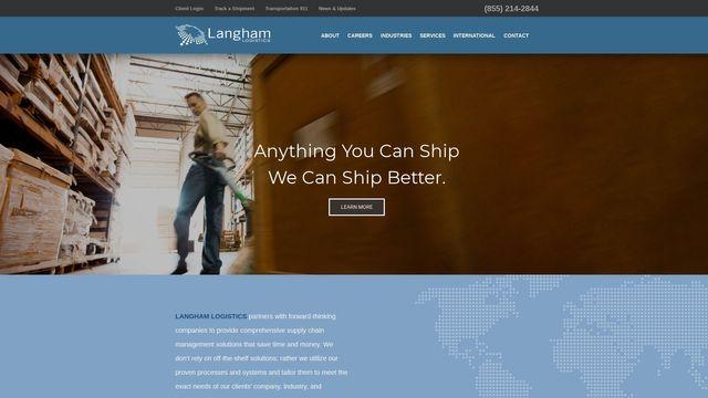 Langham Logistics Inc.