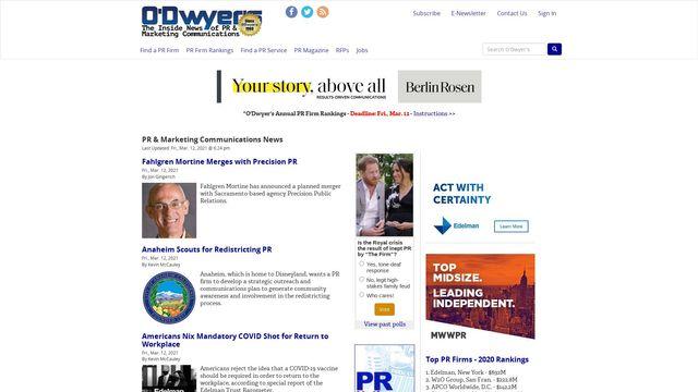 J.R. O'Dwyer Company, Inc.