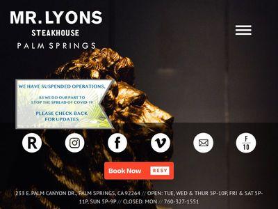 Mr. Lyons Steak House