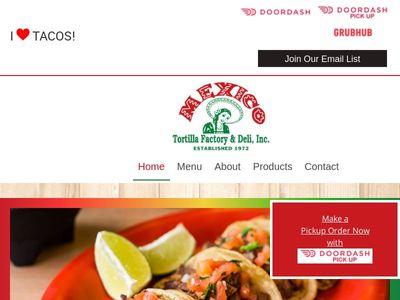 Mexico Tortilla Factory & Deli