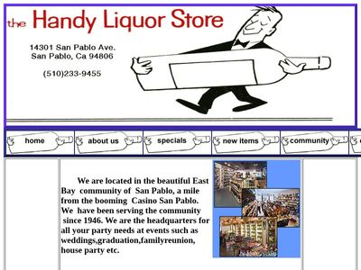 Handy liquors