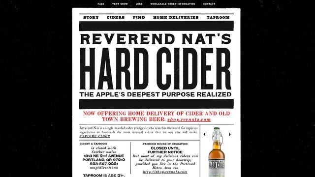 Reverend Nat's Hard Cider