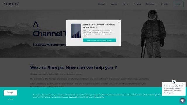 Sherpa Marketing Ltd