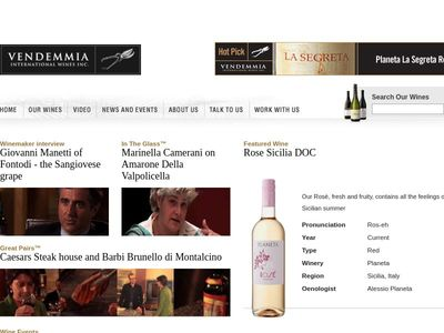 Vendemmia International Wines Inc.