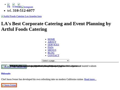 Artful Foods Catering