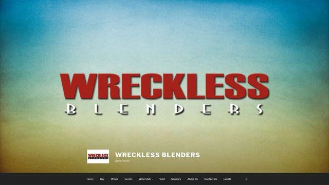 Wreckless Blenders, LLC