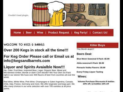Kegs and Barrels