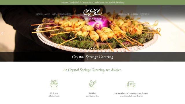 Crystal Springs Catering