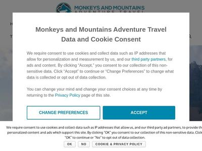 Monkeys and Mountains | Adventure Travel