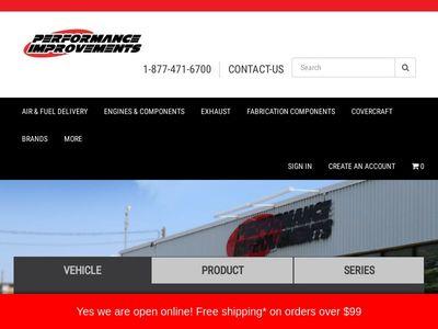 Performance Improvements Speed Shops Ltd.