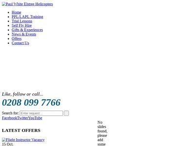 Elstree Helicopters Ltd