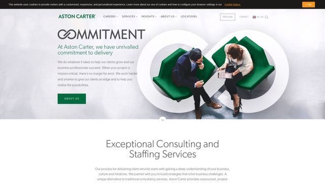 Aston Carter Staffing & Recruiting Services