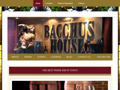 Bacchus House Wine Bar & Bistro