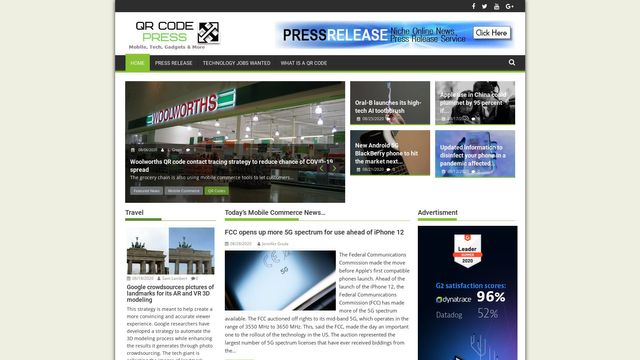 QR Code Press